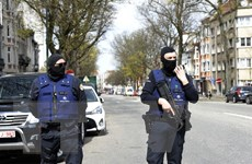 Cảnh sát Bỉ bắt giữ 8 kẻ tình nghi hậu thuẫn tổ chức khủng bố IS