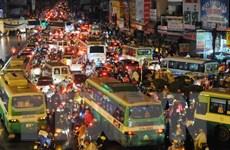 TP. HCM: Kẹt xe gia tăng, phương tiện lưu thông chỉ 22km/h