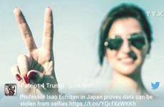 [Video] Chụp ảnh selfie có thể khiến bạn để lộ thông tin cá nhân