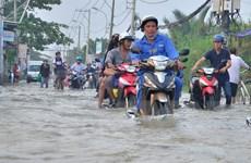 TP. HCM huy động các nguồn lực giải quyết ùn tắc, ngập nước