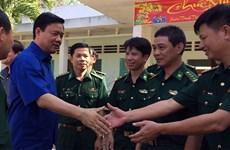Lãnh đạo TP. Hồ Chí Minh chúc Tết lực lượng vũ trang Tây Ninh