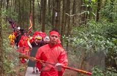Lễ cầu quốc thái dân an trên đỉnh núi Ngũ Nhạc Linh Từ