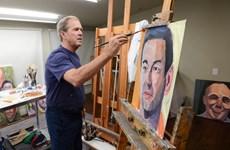 Cựu Tổng thống Bush mở triển lãm tranh về các cựu chiến binh Mỹ