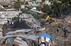 Lở đất ở bãi rác lớn nhất thủ đô Ethiopia vùi lấp hàng chục người