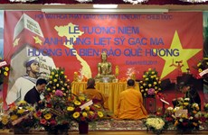 Cộng đồng người Việt tại Đức tri ân các anh hùng liệt sỹ Gạc Ma