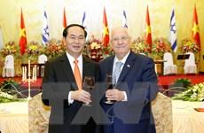 Phát biểu của Chủ tịch nước tại tiệc chiêu đãi Tổng thống Israel