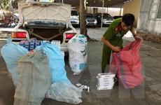 Cảnh sát kinh tế Tiền Giang bắt lô hàng gần 4.300 bao thuốc lá lậu