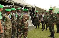 Binh sỹ 13 nước châu Phi tham gia tập trận chung tại Rwanda