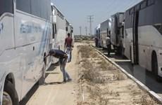 Hamas đóng cửa khẩu biên giới giữa Dải Gaza với Israel