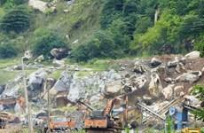 Dừng khai thác đá ở núi Bà Đen để điều tra vụ nổ mìn gây chết người