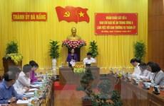 Ban Chỉ đạo Đề án Trung ương 6 làm việc với Thường vụ Thành ủy Đà Nẵng