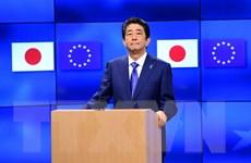 Nhật trao công hàm phản đối Triều Tiên phóng thử tên lửa đạn đạo