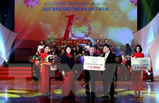 Quỹ Bảo trợ trẻ em Việt Nam đã hỗ trợ hơn 30 triệu lượt trẻ em