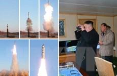 Triều Tiên tuyên bố sẽ tiếp tục bắn thử tên lửa theo hàng tuần