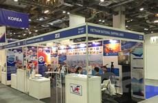 Vinalines tìm cơ hội ở Triển lãm hàng hải quốc tế tại Singapore