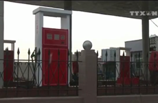 [Video] Nhiều trạm xăng tại Triều Tiên không còn xăng để bán