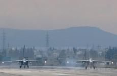 Quân đội Nga giảm một nửa số máy bay triển khai ở căn cứ Syria