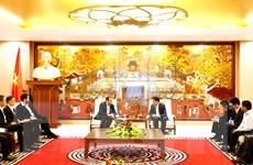 Hà Nội tạo mọi điều kiện cho các doanh nghiệp nước ngoài đầu tư