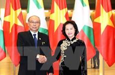 Thúc đẩy quan hệ hợp tác giữa hai Quốc hội Việt Nam và Myanmar