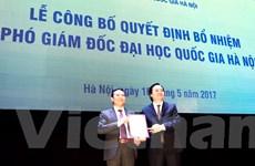 Phó giáo sư Nguyễn Hồng Sơn làm Phó giám đốc ĐH Quốc gia Hà Nội
