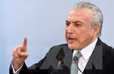 Tổng thống Brazil Temer bị cáo buộc cản trở điều tra tham nhũng