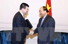 [Video] Thủ tướng Nguyễn Xuân Phúc Tiếp Phó Chủ tịch NASDAQ