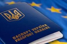 Liên minh châu Âu đã chính thức miễn thị thực cho Ukraine