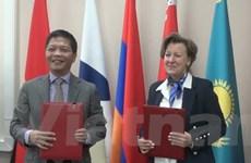 Phiên họp đầu tiên Ủy ban hỗn hợp về FTA giữa Việt Nam và EAEU