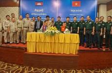 Việt Nam-Campuchia tăng cường phối hợp đảm bảo an ninh biên giới