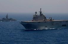 Ai Cập và Pháp tập trận hải quân Cleopatra 2017 ở Địa Trung Hải