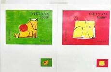 Ba họa sỹ nhận giải thiết kế tem Tết Mậu Tuất, Kỷ Hợi, Canh Tý