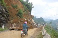 Hệ thống giao thông của Lào Cai hư hỏng nặng nề do mưa lớn