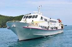 Chính thức đưa vào khai thác tuyến tàu cao tốc Sóc Trăng-Côn Đảo