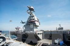"""Mỹ bắt đầu sử dụng tàu sân bay gần 13 tỷ USD khiến kẻ thù """"run sợ"""""""