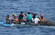Số thuyền nhân Cuba vượt biên trái phép sang Mỹ giảm mạnh