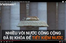 [Video] Vatican phải tắt toàn bộ 100 đài phun nước do hạn hán