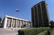 Đại sứ quán Nga ở Syria trúng đạn cối của các tay súng khủng bố