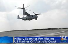 [Video] Mỹ nỗ lực trục vớt máy bay quân sự rơi ngoài khơi Australia