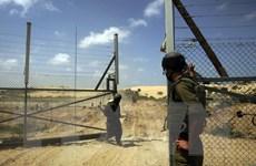 Israel xây tường ngầm dọc biên giới với Dải Gaza để ngăn tấn công