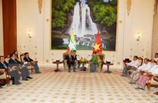 Tuyên bố chung về quan hệ Đối tác hợp tác toàn diện Việt Nam-Myanmar