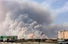 Kho vũ khí cháy nổ dữ dội gây nhiều thương vong tại Azerbaijan