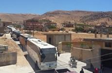 Liên quân do Mỹ dẫn đầu không kích ngăn quân IS rút khỏi Liban