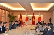 Nhật Bản khẳng định tích cực hợp tác và hỗ trợ Việt Nam