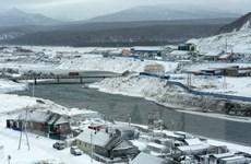 Bộ trưởng Tài nguyên Nga tới thị sát đảo tranh chấp với Nhật Bản