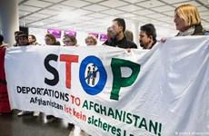 Đức nối lại chương trình trục xuất người tị nạn Afghanistan