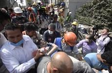 Động đất tại Mexico: Số người thương vong vẫn không ngừng tăng