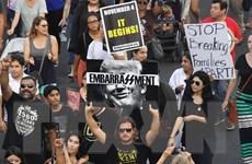Cảnh sát Mỹ bắt giữ các nghị sỹ biểu tình phản đối bãi bỏ DACA