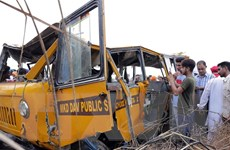 Ôtô lao vào đám đông người hành hương làm 7 người thiệt mạng