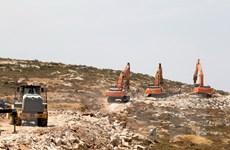 Palestine lên án kế hoạch xây hàng nghìn căn nhà định cư của Israel
