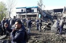 Nổ nhà máy dệt tại Thổ Nhĩ Kỳ khiến hơn 20 người thương vong
